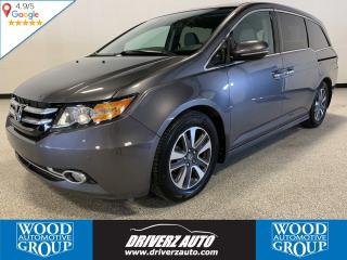 Used 2014 Honda Odyssey Touring NAVIGATION, REAR ENTERTAINMENT, LEATHER for sale in Calgary, AB