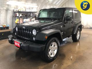 Used 2016 Jeep Wrangler Sport * 4WD * Trail Rated * Extra Set of Bridgestone Dueler A/T tires and Jeep Rims * 17 Inch rims w/Goodyear Wrangler tires * U connect touchscreen * for sale in Cambridge, ON