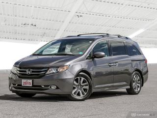Used 2015 Honda Odyssey Touring Bluetooth, Back Up Camera, Navigation, and More! for sale in Waterloo, ON
