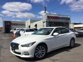 Used 2015 Infiniti Q50 AWD - NAVI - SUNROOF - REVERSE CAM for sale in Oakville, ON