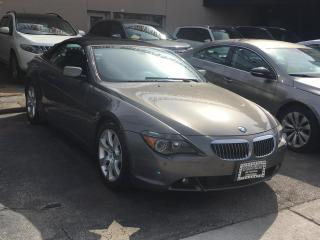Used 2006 BMW 6 Series 2dr Cabriolet 650Ci for sale in Scarborough, ON
