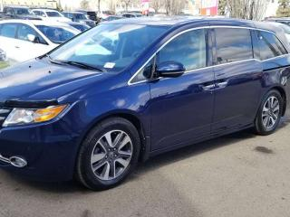 Used 2014 Honda Odyssey TOUR, LOADED, NAV, LEATHER, BLUETOOTH, DVD, SUNROOF AND MORE for sale in Edmonton, AB