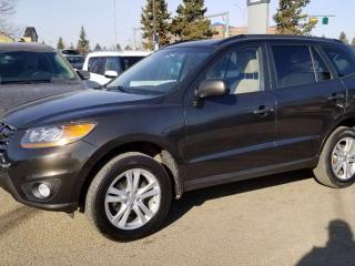 Used 2011 Hyundai Santa Fe GL; AWD, BLUETOOTH, HEATED SEATS, SUNROOF AND MORE for sale in Edmonton, AB