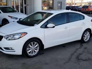 Used 2015 Kia Forte LX+ BLUETOOTH, HEATED SEATS, SUNROOF AND MORE for sale in Edmonton, AB