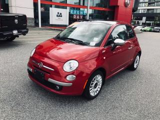 Used 2015 Fiat 500 LOUNG for sale in Richmond, BC