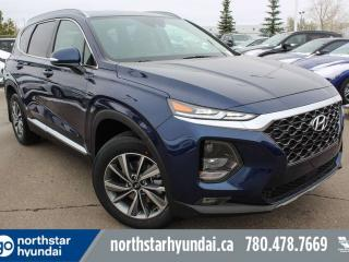 Used 2019 Hyundai Santa Fe PREFERRED W/PANO ROOF: BLUELINK/ADAPTIVE CRUISE/BLIND SPOT/PROXY KEY for sale in Edmonton, AB