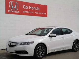 Used 2016 Acura TLX ELITE, V6, SH-AWD for sale in Edmonton, AB