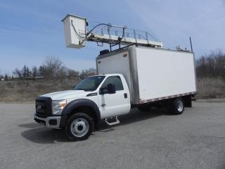 Used 2011 Ford F-550 BUCKET TRUCK WITH BOX for sale in Brantford, ON
