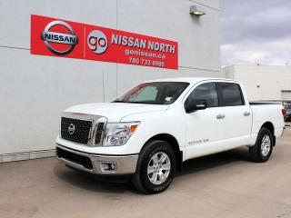 Used 2018 Nissan Titan Certified Pre-Owned!! SV 4X4 CREW CAB V8 TITAN OF TRUCKS! for sale in Edmonton, AB