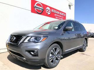 New 2018 Nissan Pathfinder Platinum for sale in Edmonton, AB