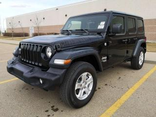 New 2018 Jeep Wrangler UNLIMITED SPORT for sale in Edmonton, AB