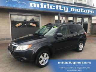 Used 2010 Subaru Forester 2.5X Outdoor/ All-Wheel Drive/ Heated Seats for sale in Niagara Falls, ON