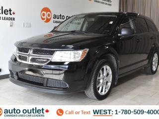 Used 2014 Dodge Journey SE, POWER WINDOWS, STEERING WHEEL CONTROLS, CRUISE CONTROL, AM/FM RADIO, A/C, PUSH-TO-START for sale in Edmonton, AB