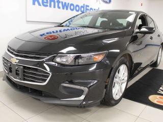 Used 2018 Chevrolet Malibu LT FWD with power drivers seat and a back up camera for sale in Edmonton, AB