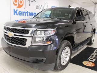 Used 2019 Chevrolet Suburban LS 4WD SUV with power seats, rear climate control for sale in Edmonton, AB