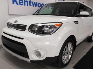 Used 2019 Kia Soul +EX FWD hatch with heated seats and a back up camera for sale in Edmonton, AB