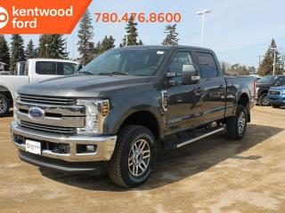 New 2019 Ford F-350 Super Duty SRW Lariat ultimate pkg 618A, 4X4 Crew Cab 6.7L Power Stroke V8, NAV, twin panel moonroof, heated/cooled power leather seats, trailer brake controller and tow pkg for sale in Edmonton, AB