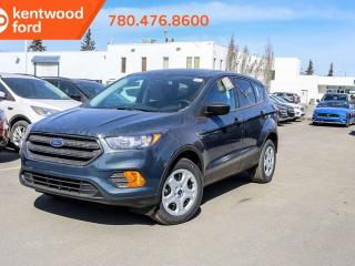 New 2019 Ford Escape S 100A, FWD, 2.5L, Remote Keyless Entry, Power Seats, Reverse Camera for sale in Edmonton, AB