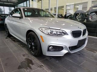 Used 2017 BMW 2 Series XDRIVE, NAVI, SUNROOF, REAR VIEW CAMERA for sale in Edmonton, AB