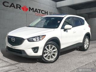 Used 2014 Mazda CX-5 GT / LEATHER / NAV / ROOF / AWD for sale in Cambridge, ON