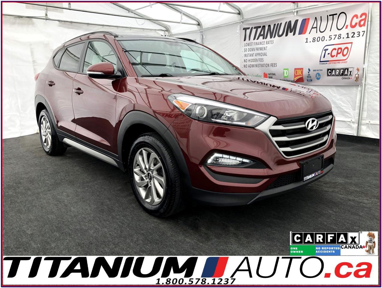 2017 Hyundai Tucson Luxury-AWD-Camera-Pano Roof-Leather-Blind Spot-XM-