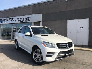 Used 2012 Mercedes-Benz ML-Class SOLD for sale in Toronto, ON