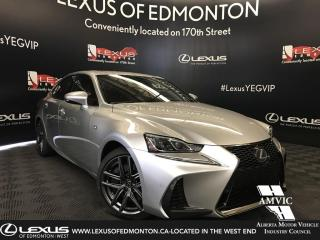 New 2019 Lexus IS 350 DEMO UNIT - F SPORT SERIES 3 for sale in Edmonton, AB