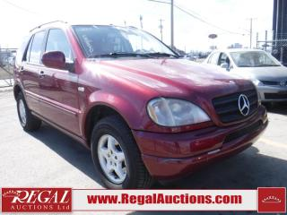 Used 2001 Mercedes-Benz ML 320 4D UTILITY AWD for sale in Calgary, AB