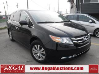 Used 2014 Honda Odyssey EX-L 4D Wagon 3.5L for sale in Calgary, AB