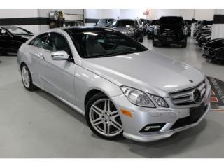 Used 2010 Mercedes-Benz E-Class E550 AMG   LOW KMS   CLEAN CARPROOF for sale in Vaughan, ON