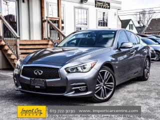 Used 2015 Infiniti Q50 AWD LIMITED DELUXE TOUR W/TECH PKG WOW!! for sale in Ottawa, ON