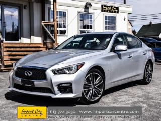 Used 2015 Infiniti Q50 AWD NAVI SPORT SEATS BOSE SOUND WOW!! for sale in Ottawa, ON