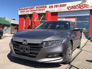 Used 2018 Honda Accord EX-L, one owner, clean carproof for sale in Toronto, ON