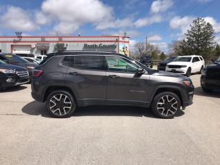Used 2018 Jeep Compass LIMITED for sale in Mitchell, ON