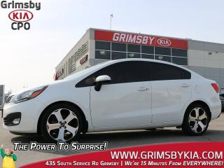 Used 2015 Kia Rio SX| Leather| Backup Cam| Heat Steer| Gas Saver for sale in Grimsby, ON