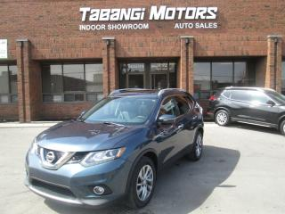 Used 2014 Nissan Rogue SL PREMIUM | NO ACCIDENT | NAVIGATION | 360 CAM | LEATHER for sale in Mississauga, ON