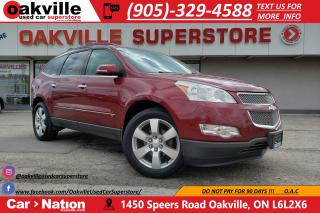 Used 2010 Chevrolet Traverse LTZ | BOSE | DVD | LEATHER | AS IS for sale in Oakville, ON