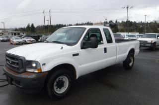 Used 2002 Ford F-250 SD XL SuperCab Long Bed 2WD for sale in Burnaby, BC