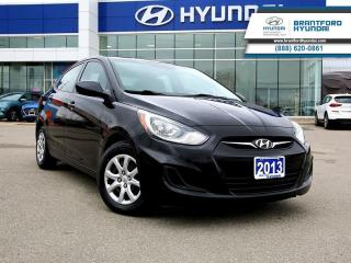 Used 2013 Hyundai Accent - $73.94 B/W - Low Mileage for sale in Brantford, ON