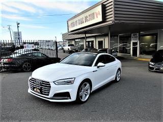 Used 2018 Audi A5 SPORTBACK S-LINE for sale in Langley, BC
