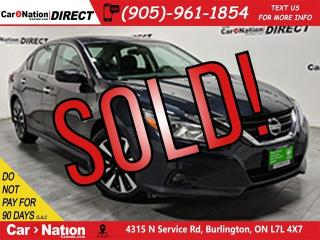 Used 2018 Nissan Altima 2.5 SV| SUNROOF| BACK UP CAMERA| for sale in Burlington, ON