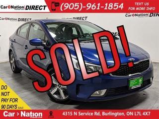 Used 2018 Kia Forte LX+  BACK UP CAMERA  HEATED SEATS  for sale in Burlington, ON