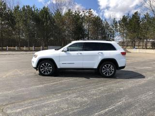 Used 2018 Jeep Grand Cherokee LIMITED 4X4 for sale in Cayuga, ON