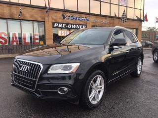 Used 2016 Audi Q5 3.0T Technik / S-LINE/ NAVIGATION for sale in North York, ON