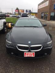 Used 2006 BMW 6 Series 650Ci for sale in Kitchener, ON
