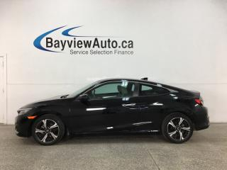 Used 2016 Honda Civic Touring - TURBO! HTD LTHR NAV! SUNROOF! PLUS MORE! for sale in Belleville, ON