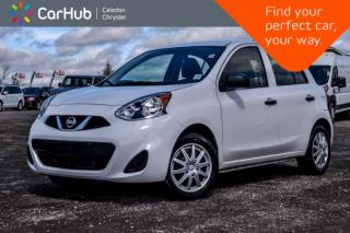Used 2017 Nissan Micra S|Only 11798 km|AM/FM/CD|Accident Free for sale in Bolton, ON