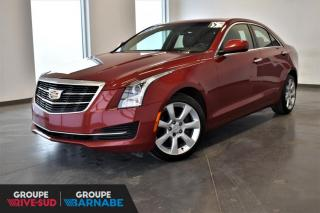 Used 2015 Cadillac ATS 2.0L Turbo AWD for sale in St-Jean-Sur-Richelieu, QC