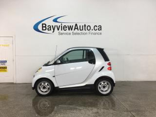 Used 2015 Smart fortwo Pure - AUTO! NAV! BLUETOOTH! HTD SEATS! ONLY 4000KMS! for sale in Belleville, ON