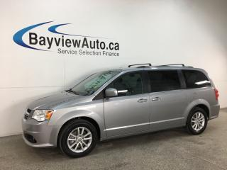 Used 2018 Dodge Grand Caravan CVP/SXT - DVD! NAV! PWR DOORS! LTHR TRIM! for sale in Belleville, ON